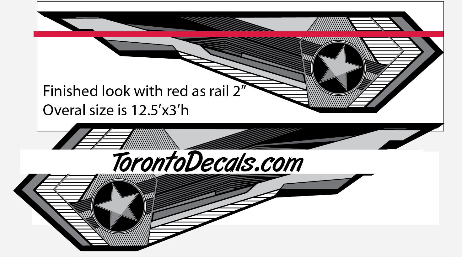 Tige Boat Graphic KitsTige Boat Vinyl Kits Tige RZ Boat Decals - Boat decals custom graphics