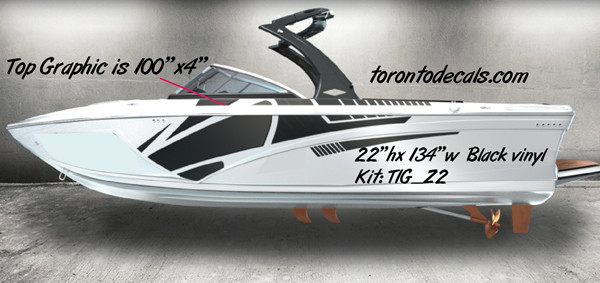 Tige Boat Graphic KitsTige Boat Vinyl Kits Boat Decals In - Boat stickers